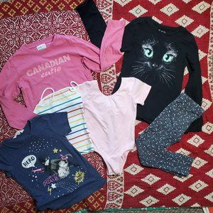 Lot 3 - Tops Size XS/S / Age 4-6